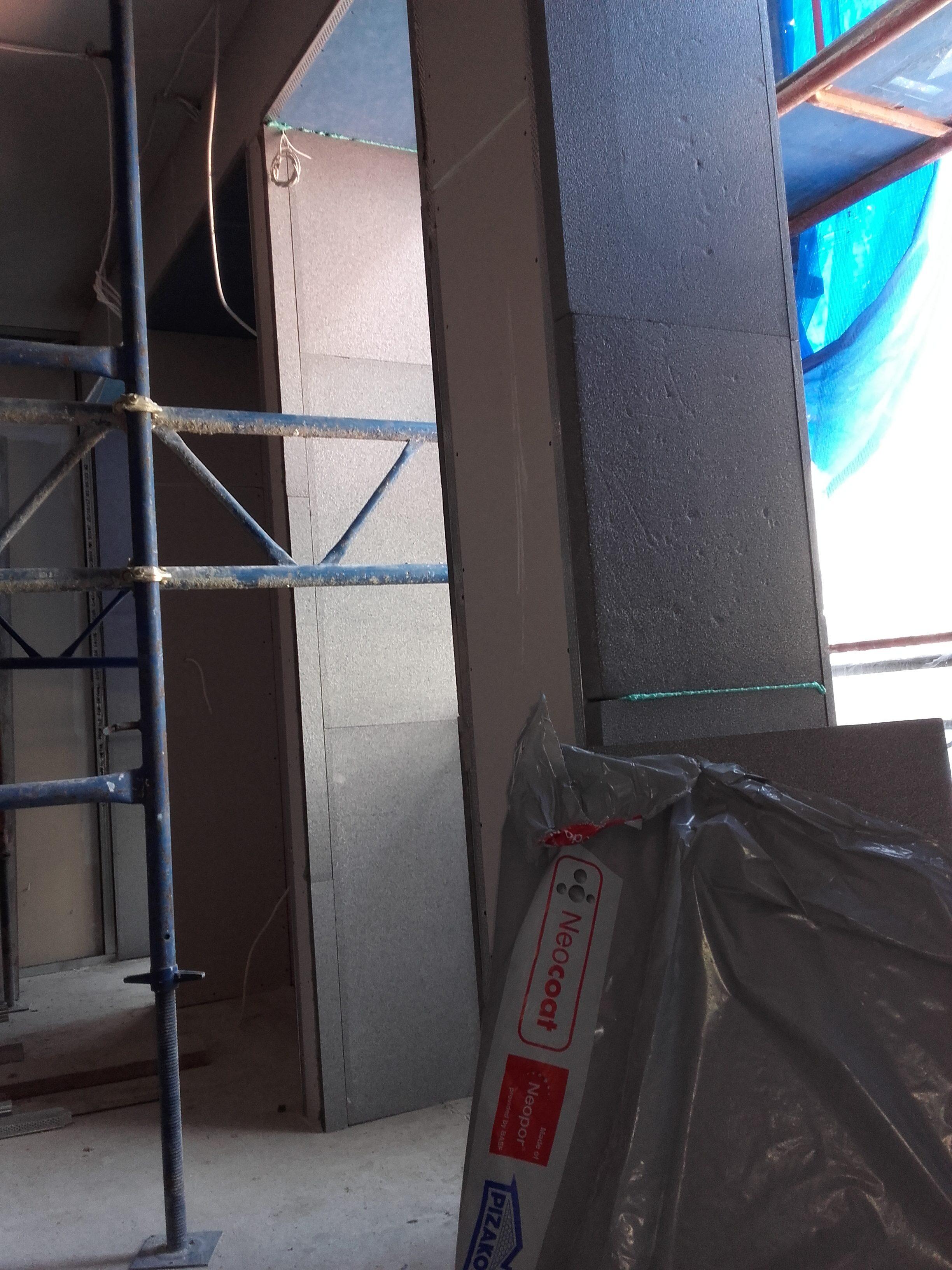 θερμομονώσεις τοίχων κτιρίου eps 100