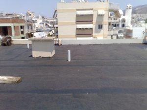 δευτερη στρώση υαλούφασμα roof-seal